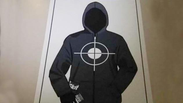 Trayvon Martin, objetivo para prácticas de tiro