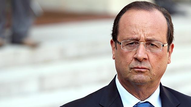 Francia, dispuesta a participar en un acción contra Siria, incluso sin Reino Unido