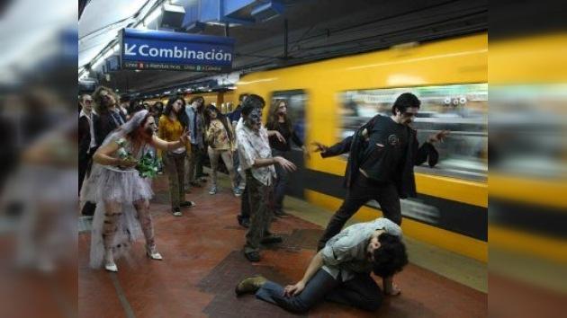 Los zombis salieron a las calles de Nueva York