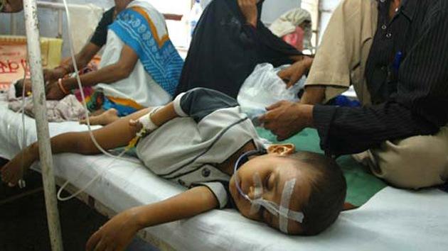 Una enfermedad desconocida mata a niños en la India