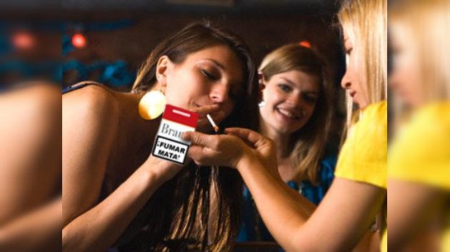 """""""¡Fumar mata!"""", ¿acaso no les da miedo?"""