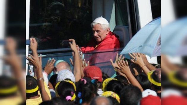 El Papa Benedicto XVI dice adiós a Cuba, en directo