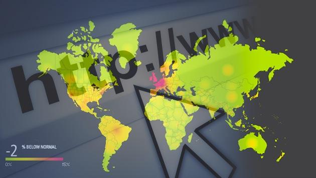 La mayor parte del tráfico de Internet entre Europa y EE.UU. está fuera de servicio
