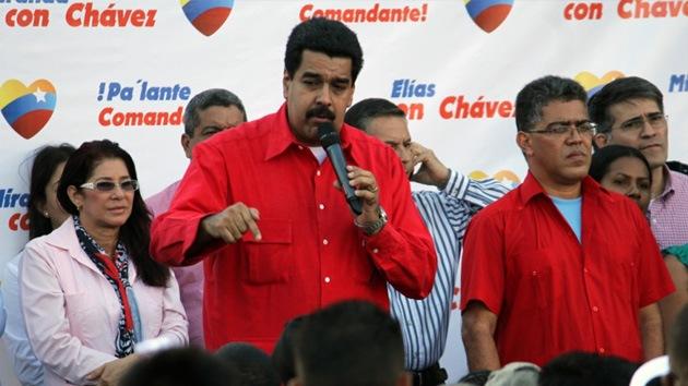 """Nicolás Maduro jura lealtad a Chávez """"hasta más allá de esta vida"""""""