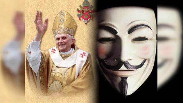 El Papa aterriza en México: Anonymous no le da la bienvenida