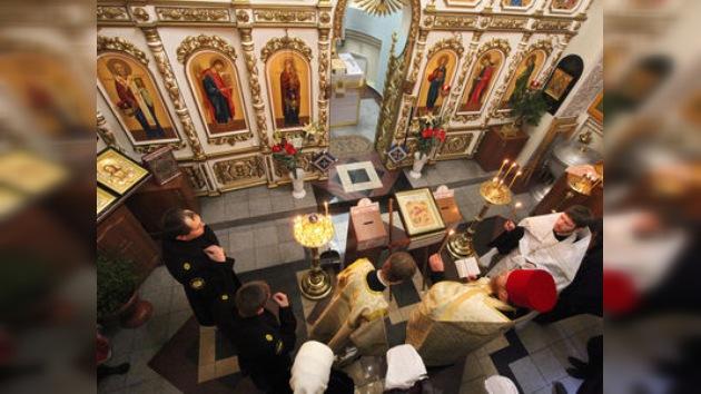 Los fieles rusos celebran la Navidad