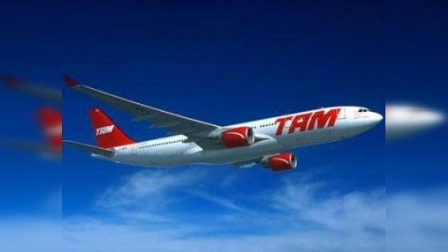 La aerolínea brasileña TAM realiza el primer vuelo con biocombustible