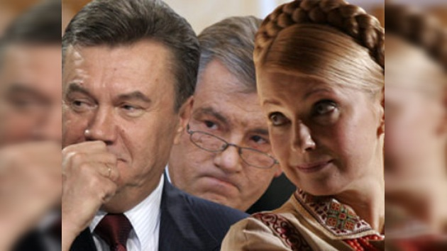Continúa el 'espectáculo postelectoral' en Ucrania