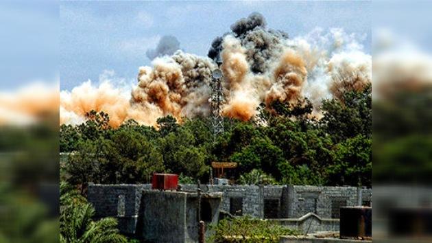 Los ataques aéreos de la OTAN contra Trípoli violan la resolución de la ONU