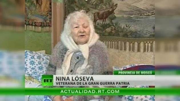 Una anciana rusa obligada a mudarse contra su voluntad