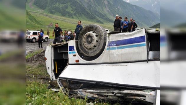 Se confirman 12 muertos en el accidente de tráfico en Osetia del Sur