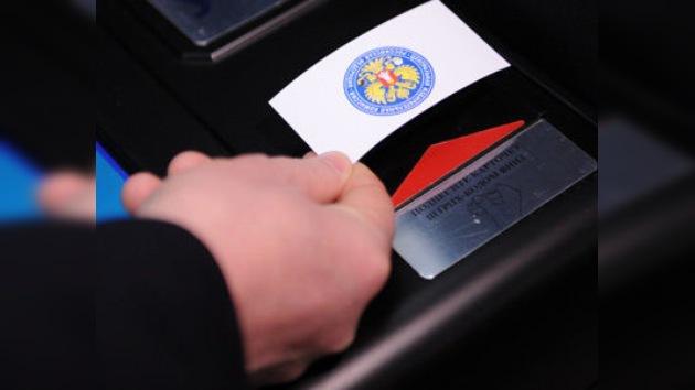 Comienzan las elecciones parlamentarias en Rusia