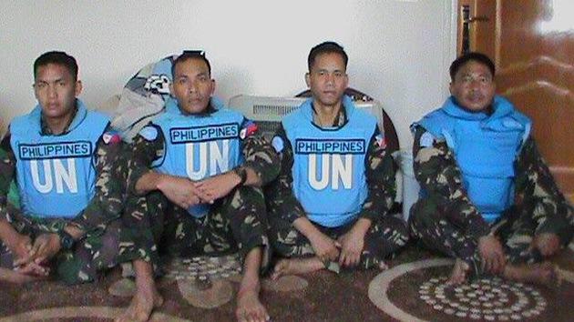 ONU: Cuatro cascos azules fueron detenidos en Siria