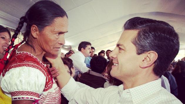 """México emprende una """"cruzada"""" contra el hambre"""