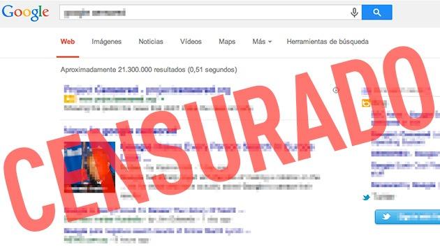 Del 'derecho al olvido' a la 'censura' en un clic: El borrado de Google indigna a los medios
