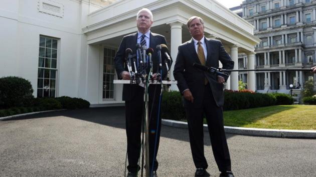"""McCain: """"El fracaso de Obama en Siria afecta a la seguridad de EE.UU."""""""