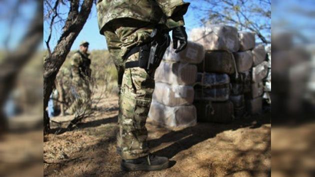El Ejército mexicano desmantela uno de los narcolaboratorios más grandes del país