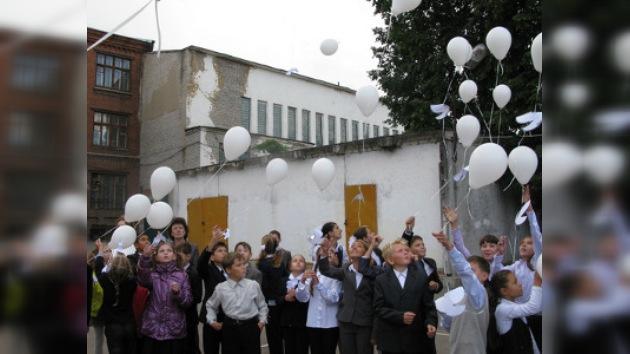 Condenan una 'reconstrucción' del atentado de Beslán hecha en una escuela