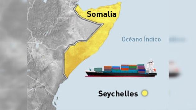 El barco alemán Beluga Nomination sigue capturado por los piratas somalíes