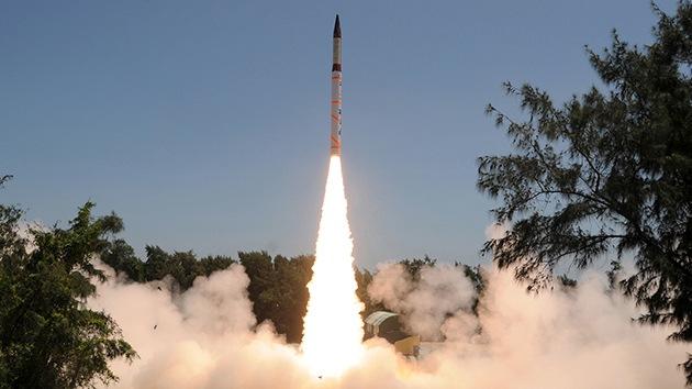 India prueba con éxito el misil balístico con capacidad nuclear Agni-4