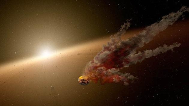 Descubren una gran colisión de asteroides que podría formar una 'nueva Tierra'