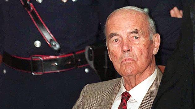 Muere el criminal de guerra nazi Erich Priebke