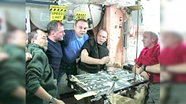 Video desde la Estación Espacial Internacional, parte 6