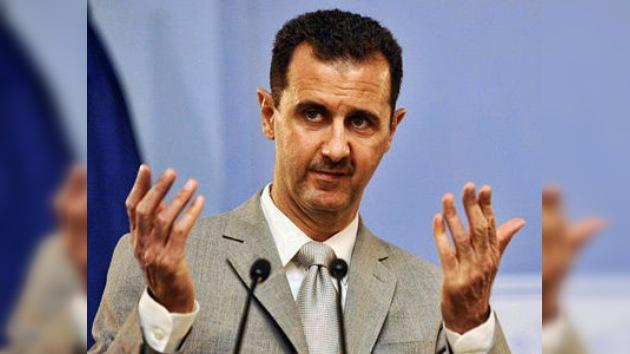 Al Assad, dispuesto a admitir cambios democráticos