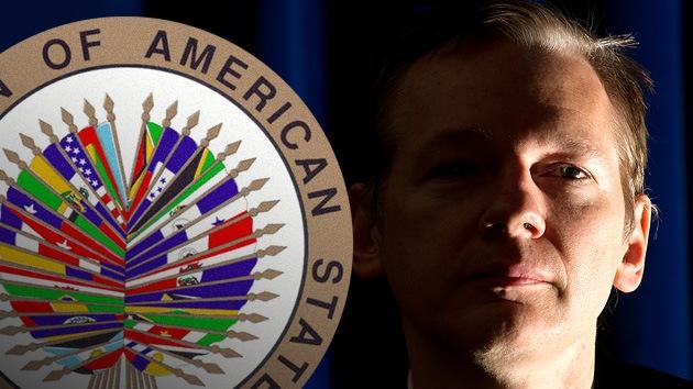 Caso Assange: La OEA aprueba la propuesta de Ecuador de convocar a una reunión de cancilleres