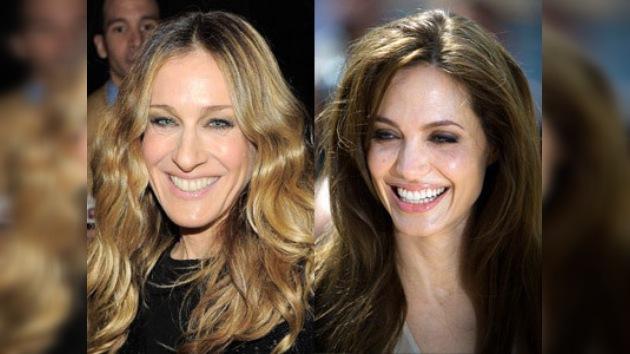 Angelina Jolie y Sarah Jessica Parker se llevan los mejores sueldos femeninos de Hollywood