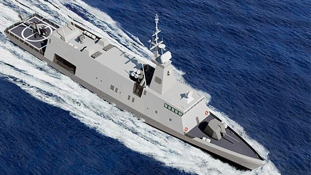 Israel presenta el proyecto de un nuevo buque de guerra avanzado