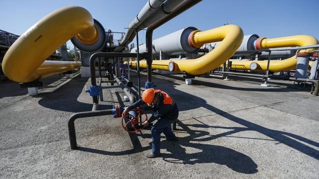 Rusia desmiente que Ucrania desvíe el gas destinado a Europa