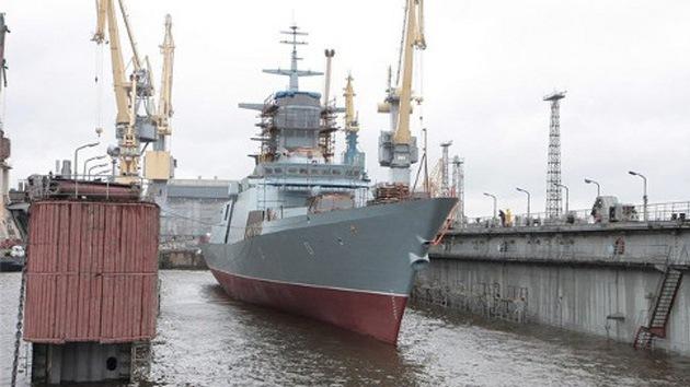 Avanzado buque espía ruso será botado en septiembre