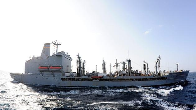 Colisionan dos buques de transporte militar de EE.UU. en el Golfo de Adén