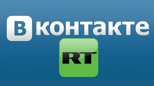 RT lanza su propia cuenta en la red social rusa VKontakte