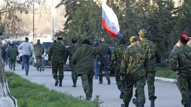 Crimea: La base aérea de Belbek pasa a control de las autodefensas