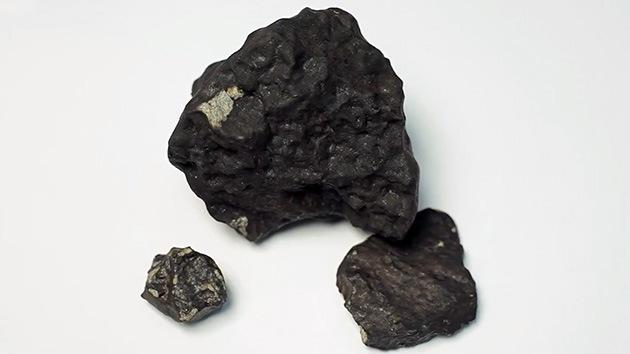 Un gran hallazgo: Encuentran un fragmento de 1,8 kilos del meteorito de los Urales