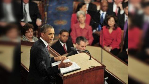 """Obama propone """"crear una economía que perdure"""""""