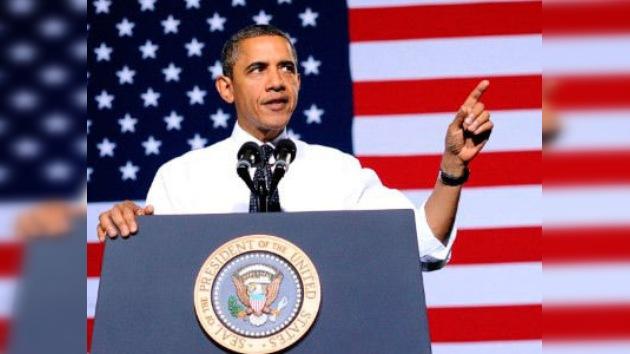 """Obama: """"El único remedio contra la crisis es salvar la economía de EE. UU."""""""