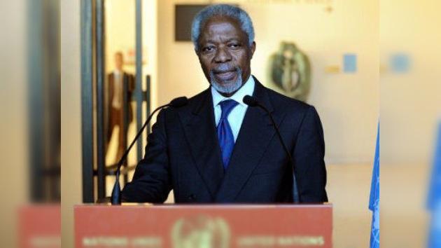 Kofi Annan llega a Moscú  para coordinar los siguientes pasos del plan para Siria