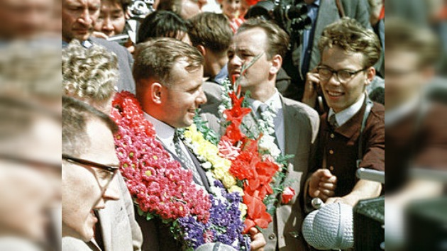 Gagarin inspira a las generaciones jóvenes en España