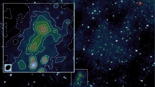 Descubren cerca de la Tierra una radio galaxia inusual