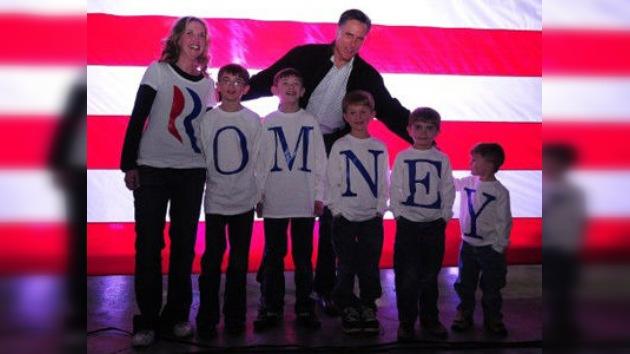 Mitt Romney barre en Nevada