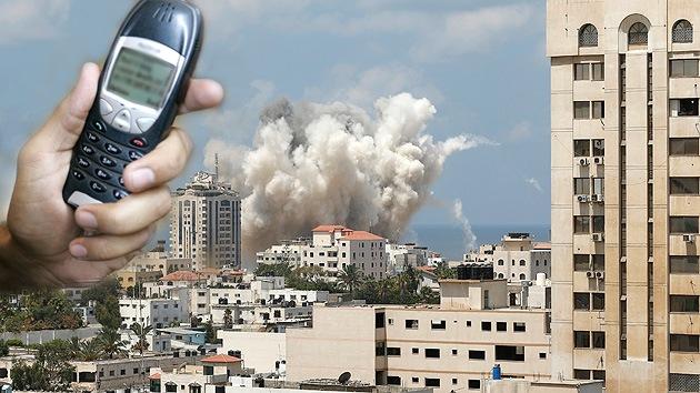 """SMS desde Israel: """"Bombardearemos su casa en breve, desalojen"""""""