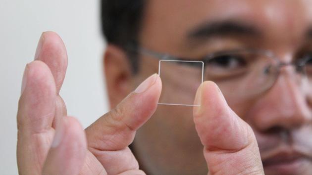 La memoria eterna del cristal: nuevo dispositivo de guardar datos