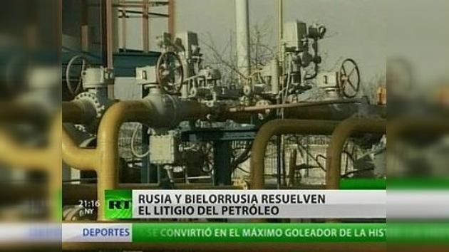 Rusia y Bielorrusia llegan a un acuerdo sobre el suministro de petróleo