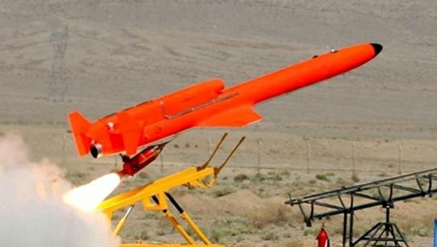 Irán 'saca a brillo' a su drone portando misiles con capacidad de 24 horas de vuelo