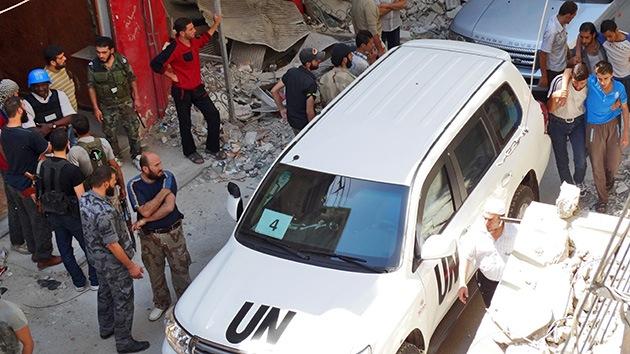 La ONU examina 7 presuntos casos de uso de armas químicas en Siria, 3 de ellos en Damasco