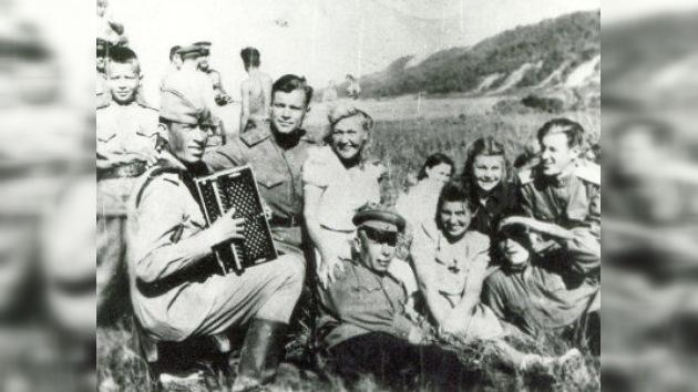 El joven soldado regresaba de Berlín