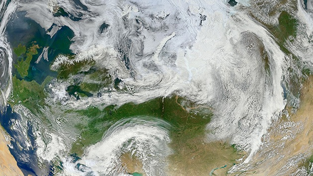 La capa de ozono se resiente por el meteorito